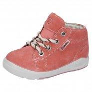 dětské jarní boty kotníkové na tkaničku