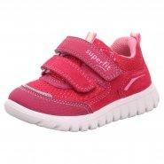 dětská jarní obuv dívčí na suchý zip
