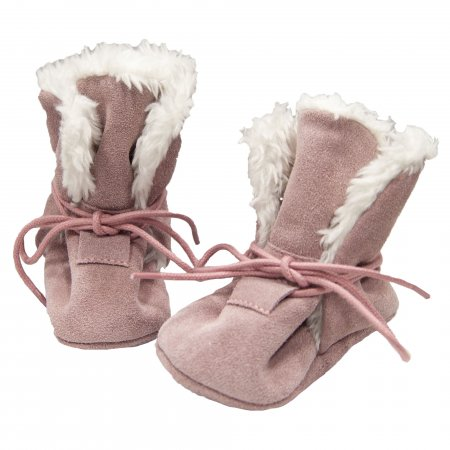 baBice shoes capáčky kožené Winter shoes pink