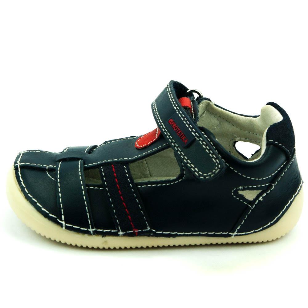 4fc66659127 Protetika celoroční dětská obuv Glen navy