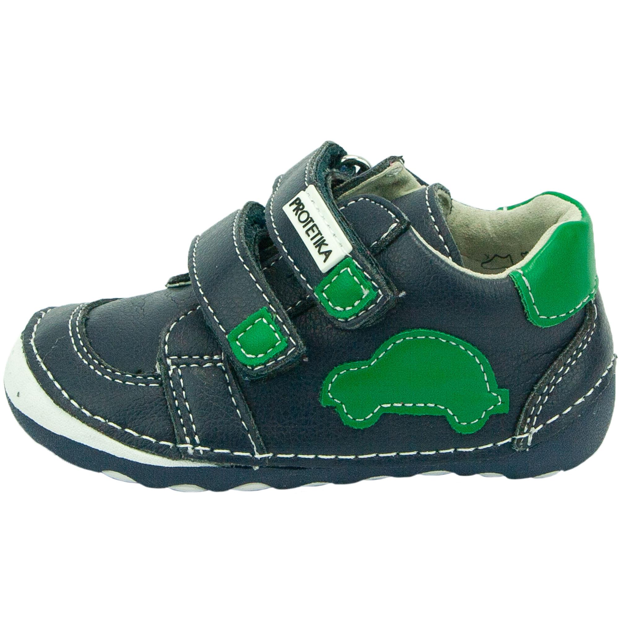 98cd6be16eb0 Protetika celoroční dětská obuv Levis Green