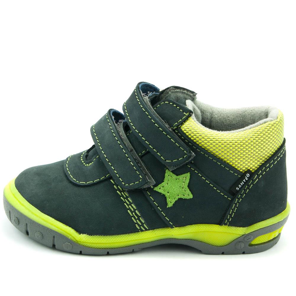 f6e699718eb Santé celoroční dětská obuv HP 4912 Šedá