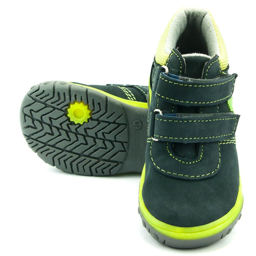 2b24ef8b2dc ... Santé celoroční dětská obuv HP 4912 Šedá