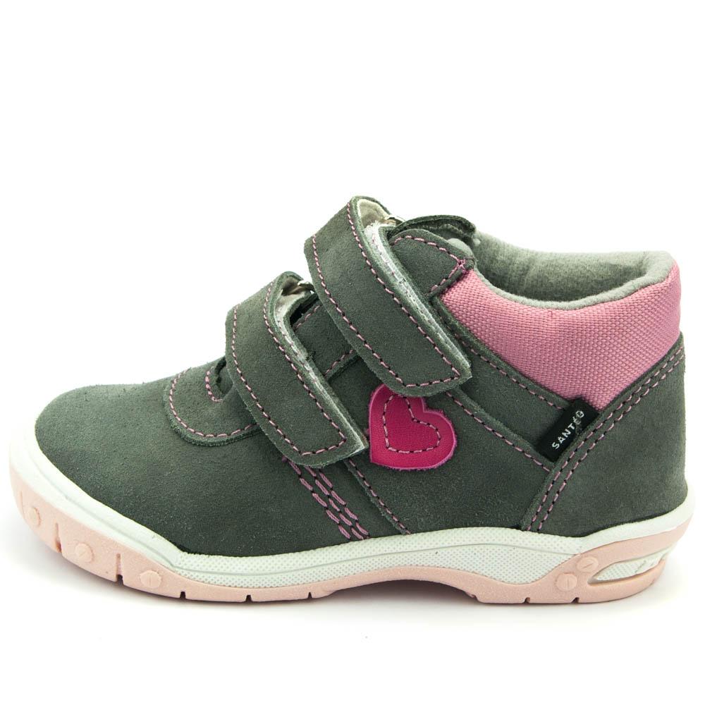 ab2d04124a9 Santé celoroční dětská obuv HP 4912B Šedá