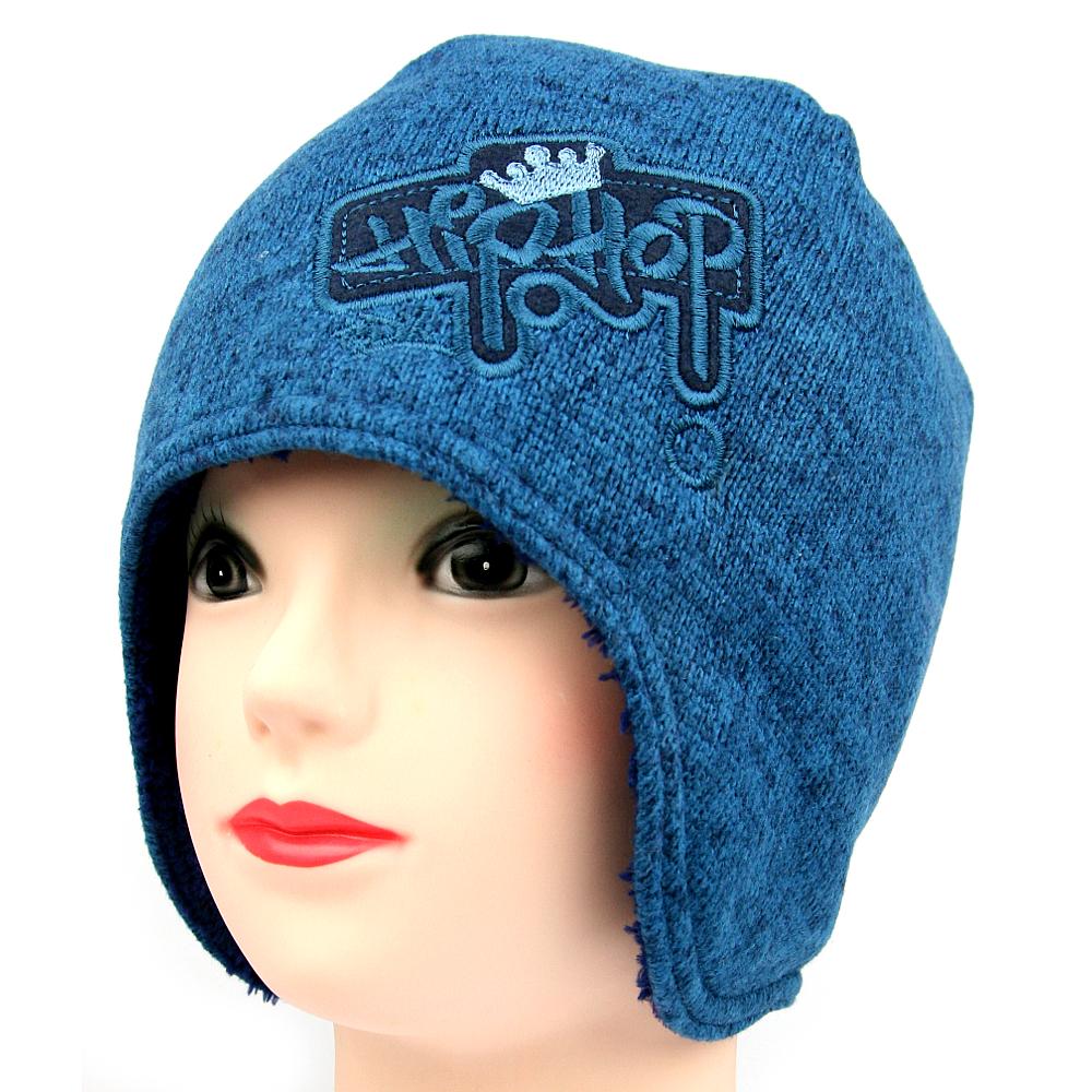 Dětská zimní čepice 3394 modrá  49d193f013