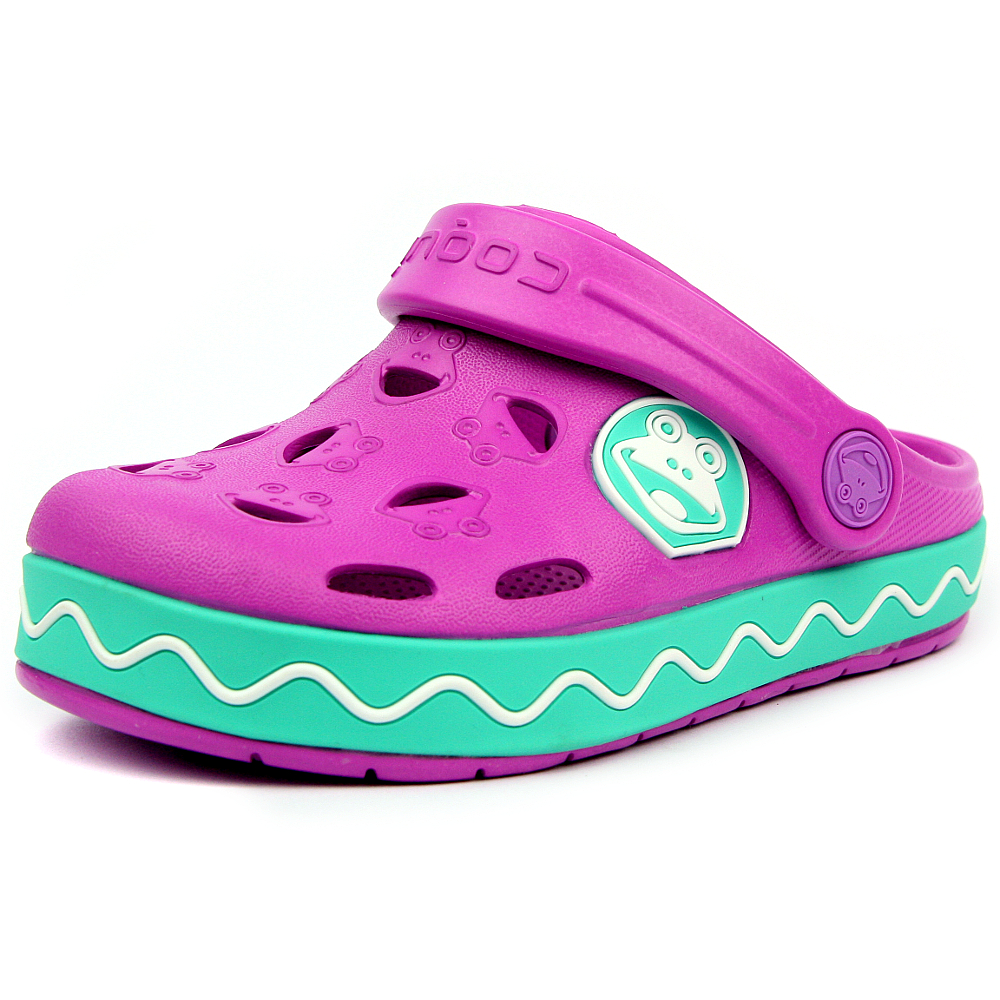 Coqui dětské boty do vody 8801 New Purple Mint ... af97d5eb65