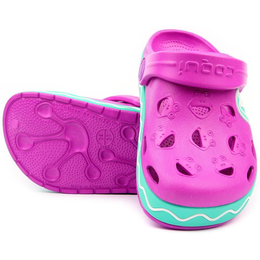 ... Coqui dětské boty do vody 8801 New Purple Mint cab3f711fb