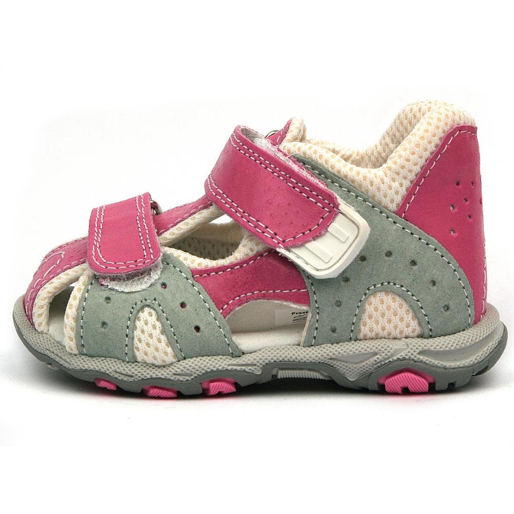 d2546dfbb6b Santé dětské sandály N 810 301 45 15 růžová