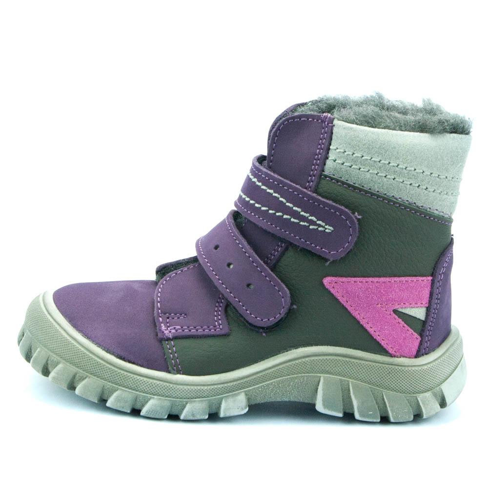 Essi dětské zimní boty S1708 fialová 2a6ee7ab8e