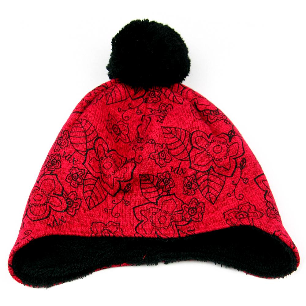 RDX dětská zimní čepice 3455 červená 4ef73f08bf