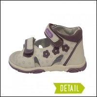 dětské sandály santé kotníkové bugga sandálky dětské dětské sandále  protetika ... 9bad552670