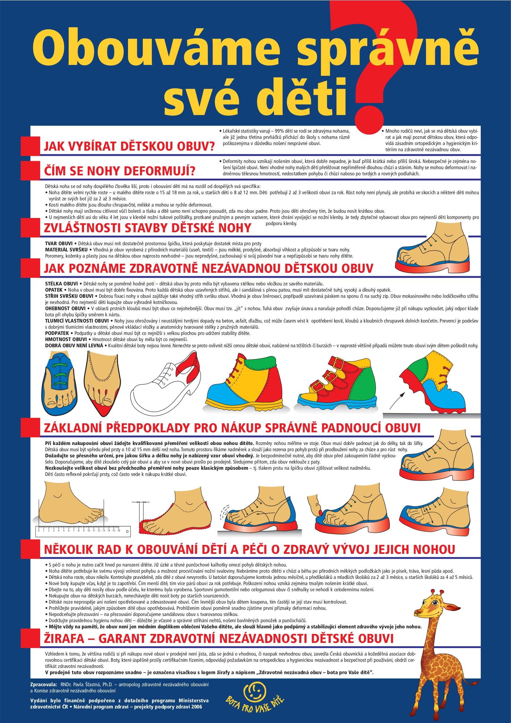 d7d380b96fd ... jak poznat zdravotně nezávadnou obuv ...